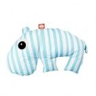 DONE BY DEER HIPOPOTAM poduszka do karmienia 3w1 blue