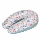 CEBA CEBUSZKA PHYSIO MULTI wielofunkcyjna poduszka dla kobiet w ciąży i dzieci wzór Rowanberry Velvet