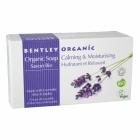 BENTLEY ORGANIC organiczne mydło nawilżające i łagodzące 150g