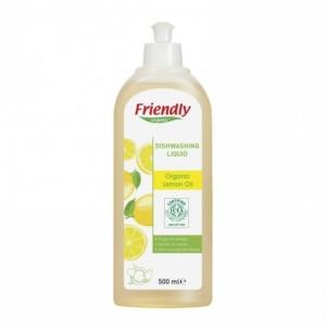 FRIENDLY ORGANIC płyn do mycia naczyń cytrynowy 500ml