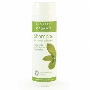 BENTLEY ORGANIC naturalny organiczny szampon do włosów normalnych i przetłuszczających się 250ml
