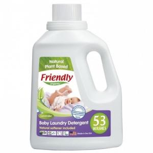 FRIENDLY ORGANIC płyn do prania ubranek dziecięcych lawendowy 1,56L