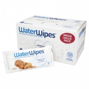 WATERWIPES chusteczki nasączane czystą wodą 60 szt. x 12
