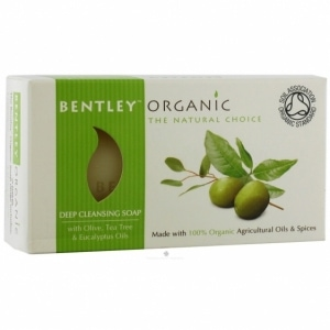 BENTLEY ORGANIC organiczne mydło głęboko oczyszczające 150g