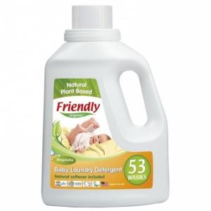 FRIENDLY ORGANIC płyn do prania ubranek dziecięcych magnoliowy 1,56L