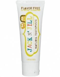 JACK N JILL naturalna pasta do zębów bezsmakowa xylitol 50g