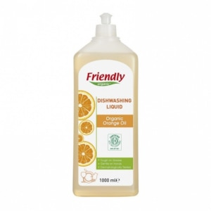 FRIENDLY ORGANIC płyn do mycia naczyń pomarańczowy 1l