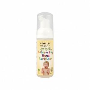 BENTLEY ORGANIC bezpieczna antybakteryjna pianka dziecięca do mycia rąk 50ml