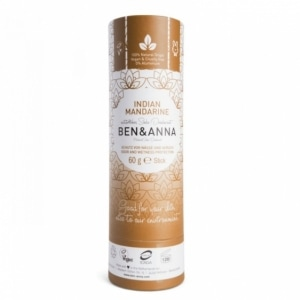 BEN & ANNA naturalny dezodorant w sztyfcie eko INDIAN MANDARINE