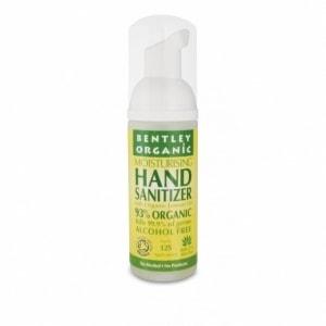 BENTLEY ORGANIC antybakteryjna pianka do mycia rąk limonka 50ml