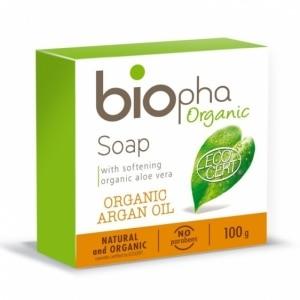 BIOPHA ORGANIC naturalne mydło z olejem arganowym 100g