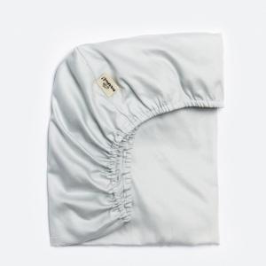 MAAMUT prześcieradło do łóżeczka szare 60x120