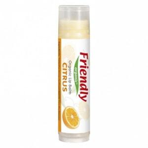FRIENDLY ORGANIC organiczny balsam do ust cytrus 4,25g